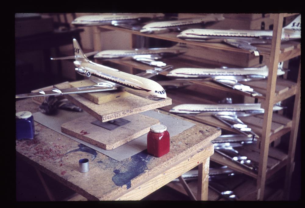 Caravelle production line 1959