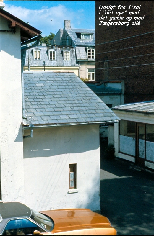 View from the Fermo workshop in 1970