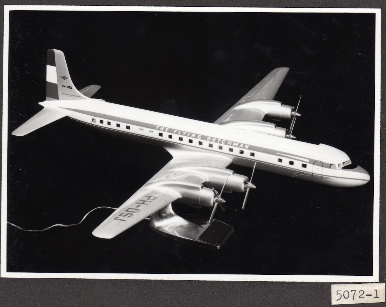 KLM DC-7C starboard side